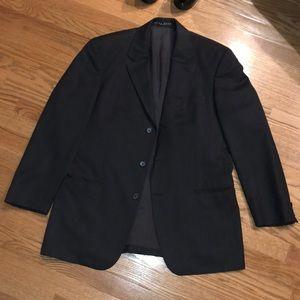 Hugo boss 40s black wool blazer